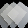 HUASHUAITE Frosted Surface Clear Crystal Cast Plexiglass Color Solid Acrylic Plastic Sheet for Building Material