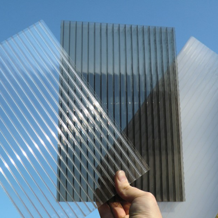 PC Hollow Sheet Sun Polycarbonate Sheet Produced by Huashuaite